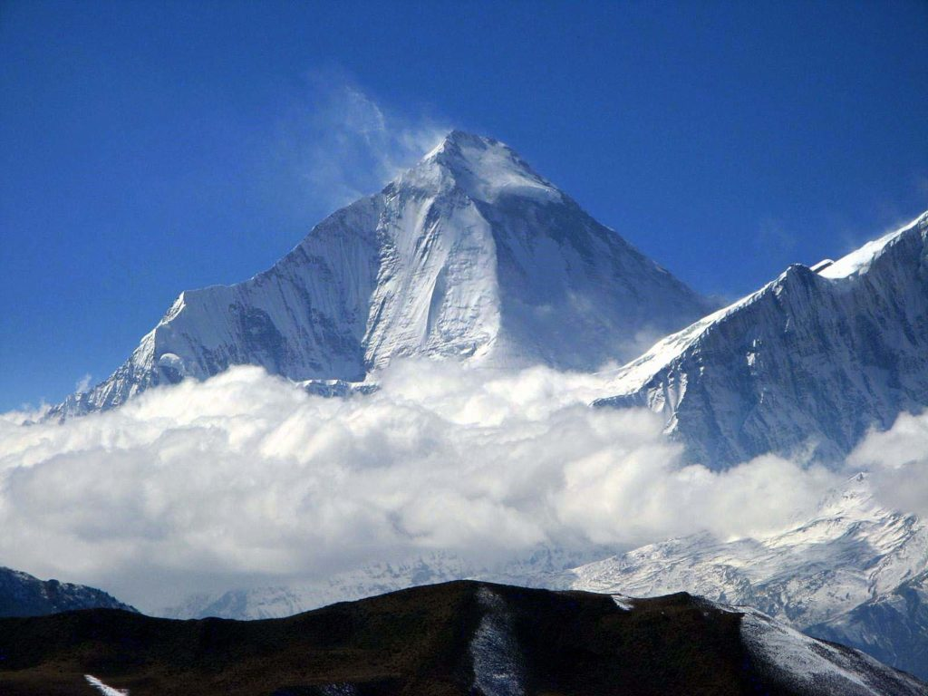 Dhaulagiri 1 6th highest mountain in Nepal