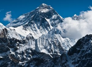 Mount Everest highest mountain in Nepal