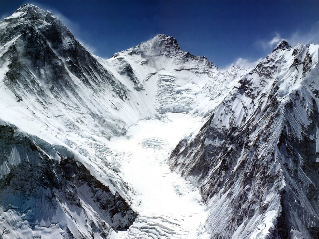 Lhotse the 3rd highest mountain in Nepal