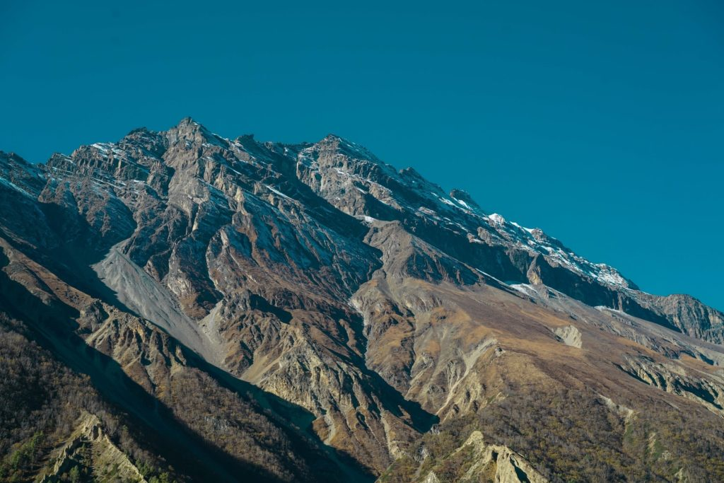 View from Manang in Spring season