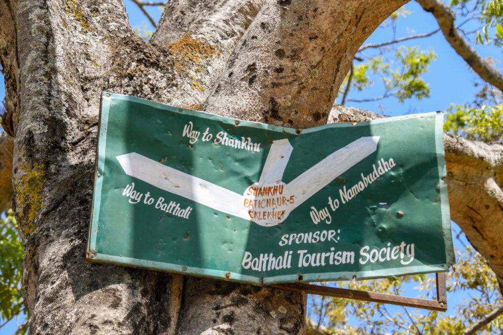 balthali namo buddha hiking
