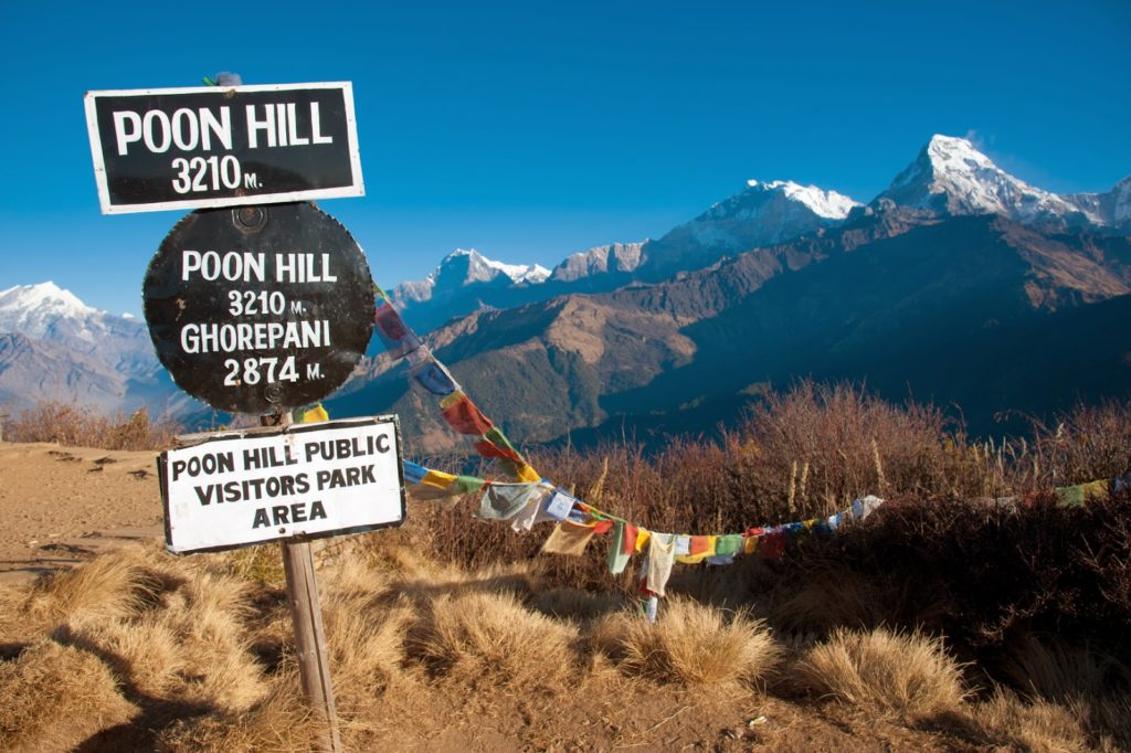 poon hill ghorepani trek
