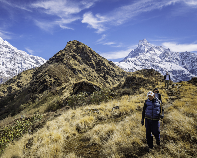 high camp mardi himal trek