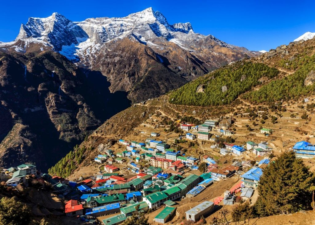 namche everest view trek