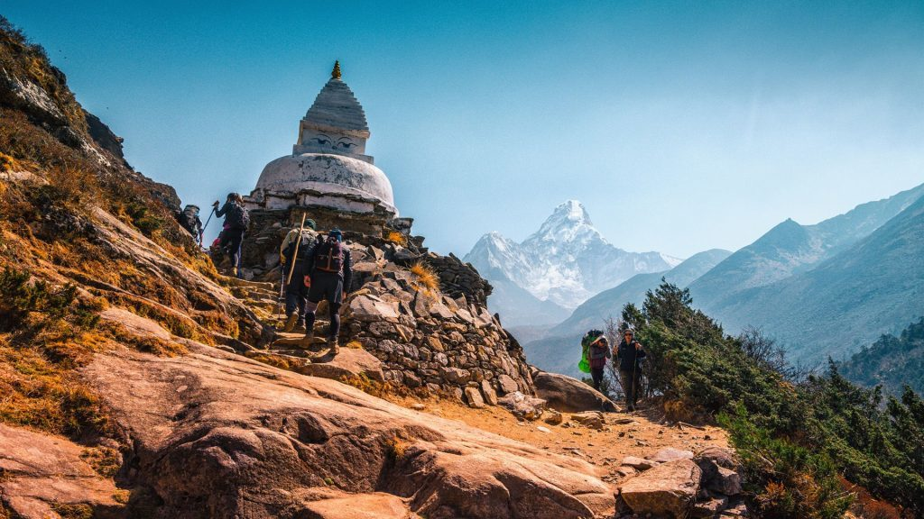 pangboche everest base camp trek