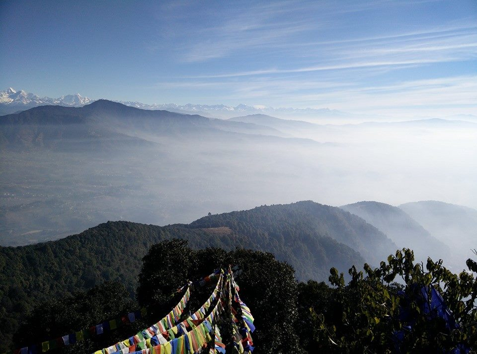 Short hike in Kathmandu Nepal